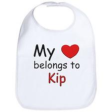 My heart belongs to kip Bib