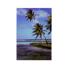 South Caye Belize 23x35 Rectangle Magnet