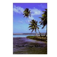 South Caye Belize 23x35 Postcards (Package of 8)