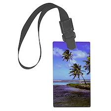 South Caye Belize 14x10 Luggage Tag