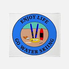 waterski4 Throw Blanket