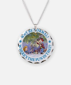 ALICE WHY BE NORMAL_blue cop Necklace