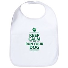 Keep Calm Bib