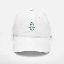 Keep Calm Baseball Baseball Cap