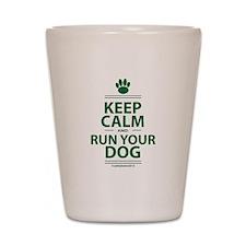 Keep Calm Shot Glass