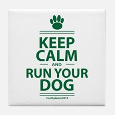Keep Calm Tile Coaster