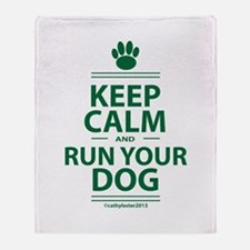 Keep Calm Throw Blanket