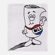 Bill Throw Blanket