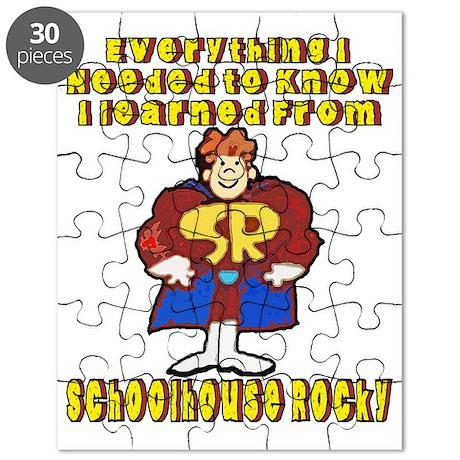 schoolhouse Rocky Puzzle