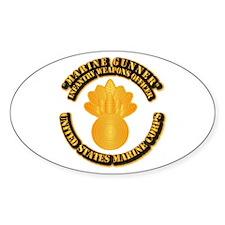 USMC - Marine Gunner Decal