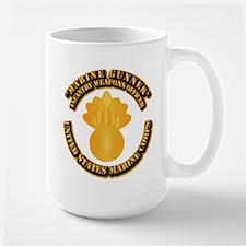 USMC - Marine Gunner Large Mug
