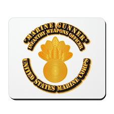 USMC - Marine Gunner Mousepad