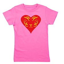 Tiger-Heart-2010 Girl's Tee