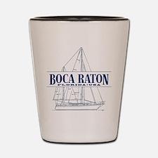 Boca Raton - Shot Glass