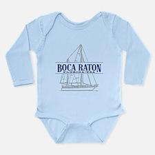 Boca Raton - Long Sleeve Infant Bodysuit