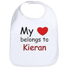 My heart belongs to kieran Bib