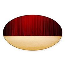 Theater stage curtains Decal
