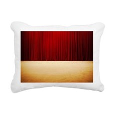 Theater stage curtains Rectangular Canvas Pillow