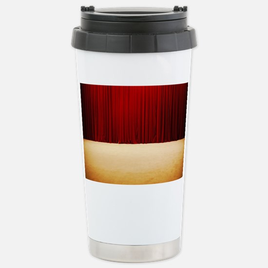 Theater stage curtains Stainless Steel Travel Mug