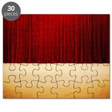 Theater stage curtains Puzzle
