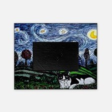 thinking of stars large poster Picture Frame