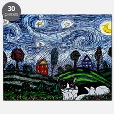 thinking of stars large poster Puzzle