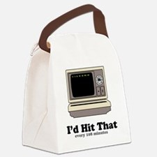 Id Hit That Canvas Lunch Bag