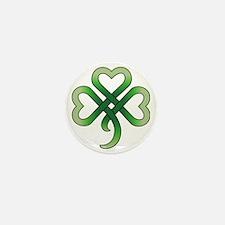 celtic clover Mini Button