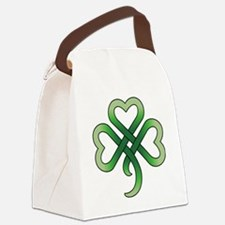 celtic clover Canvas Lunch Bag