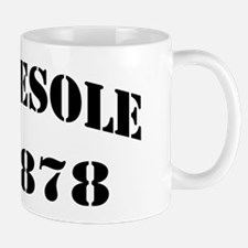 vesole dd black letters Mug