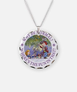 ALICE WHY BE NORMAL_purple c Necklace