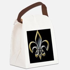 Revised FDL on BLK 5x3oval_sticke Canvas Lunch Bag