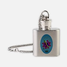 COBIA GIRL PROOF STICKER Flask Necklace
