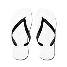 4-Running_men-white Flip Flops