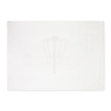 Flint Town Flyerz White Winged Bask 5'x7'Area Rug