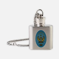 ROCK CRAB PROOF STICKER Flask Necklace