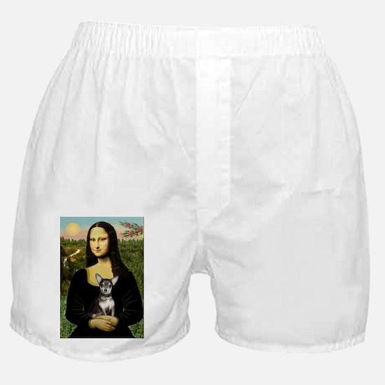5.5x7.5-Mona-Chih-BlueTan.PNG Boxer Shorts