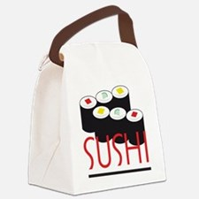 C-183A (sushi)K Canvas Lunch Bag