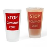 Stop Common Core Drinking Glass