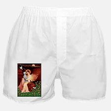 Dalmatian 1 - Seated Angel.png Boxer Shorts