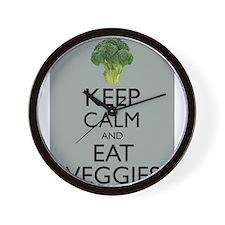 Keep Calm and Eat Veggies Vegetarian Vegan Broccol