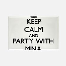 Keep Calm and Party with Mina Magnets