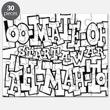 TT_start_a_war_BW Puzzle