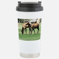 Estes Park Colorado Wild Elk Wi Travel Mug