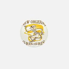 New Orleans Gris Gris Mini Button