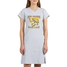 New Orleans Gris Gris Women's Nightshirt