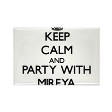 Keep Calm and Party with Mireya Magnets