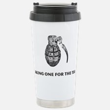 Taking One For the Team Stainless Steel Travel Mug