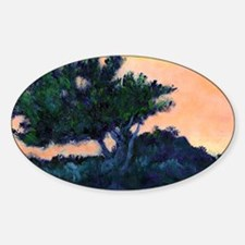 torreypine9x12 Sticker (Oval)