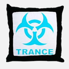 bohazardtrance Throw Pillow